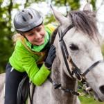 Lezione di equitazione a Roma